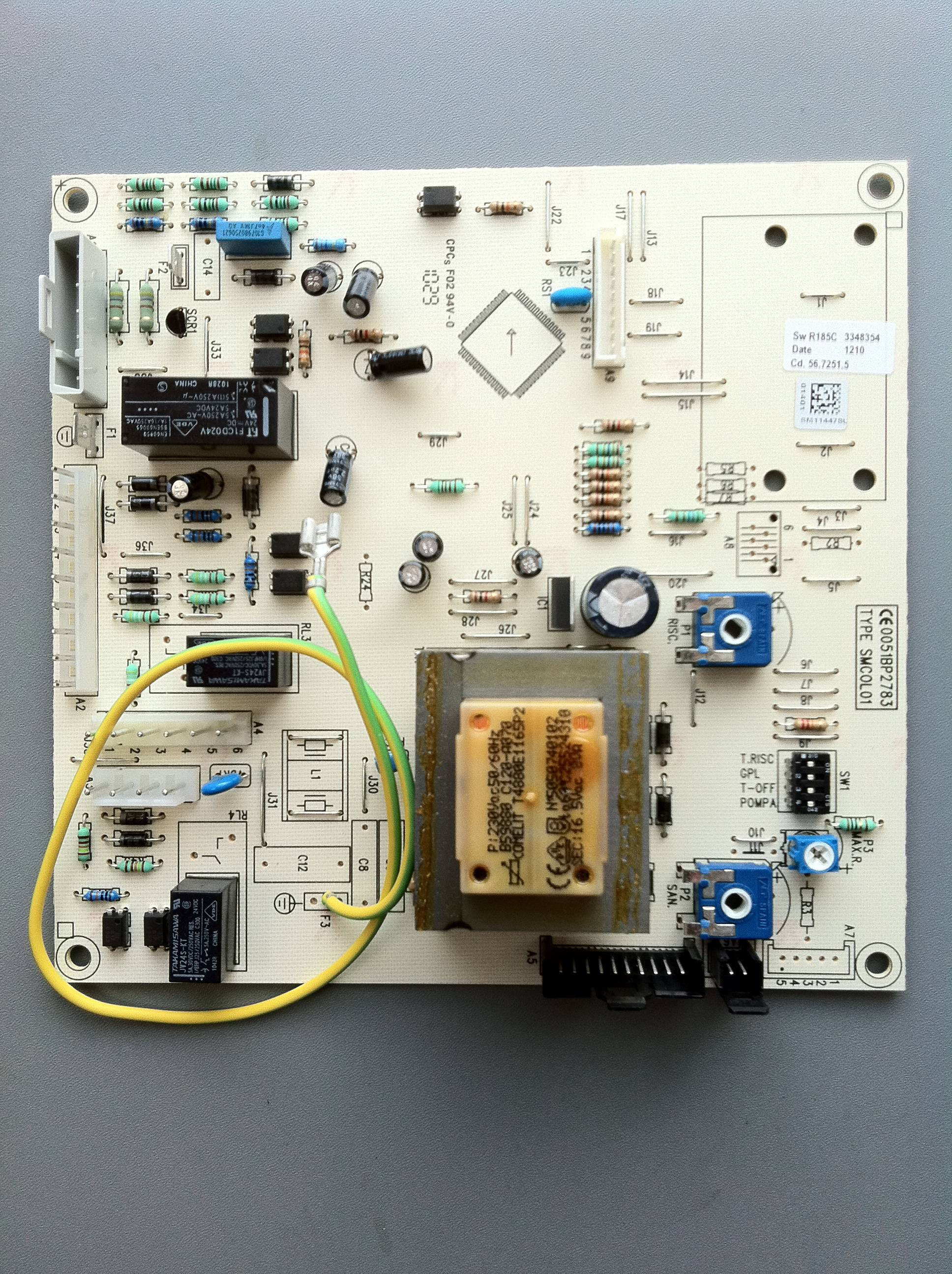 PCB Baxi 35/60 60/100 and potterton System 24 - Gas Parts